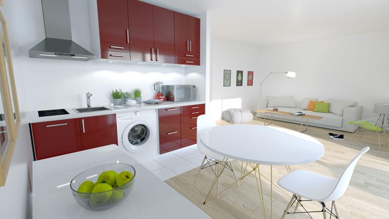 logement neuf saint cyr ecole studio financi re du c dre. Black Bedroom Furniture Sets. Home Design Ideas